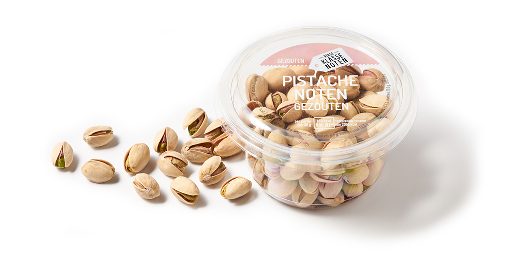 Gezouten pistachenoten