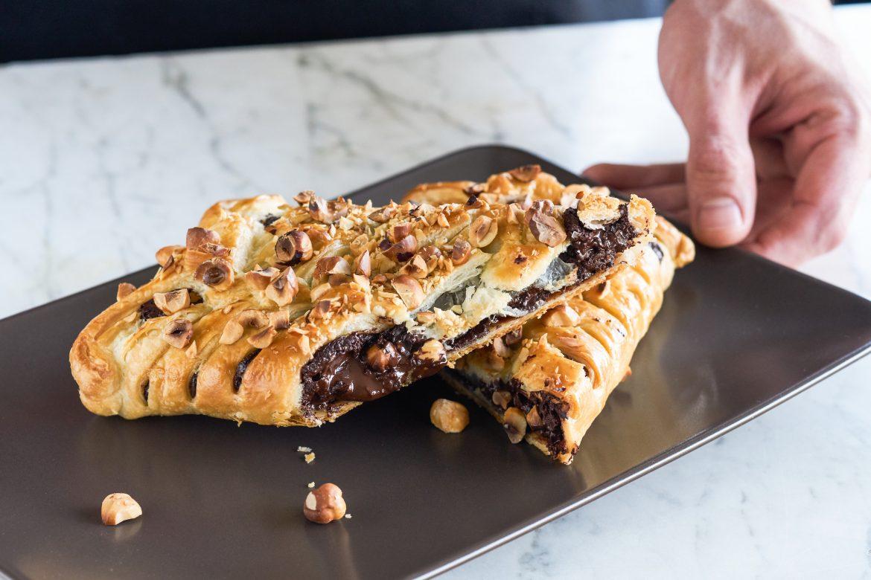 Chocola in bladerdeeg - Foodnoot - receptfoto